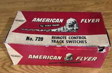 VINTAGE AMERICAN FLYER #720 REMOTE CONTROL TRACK SWITCH Empty Box Only