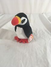 Retired Ty Beanie Baby Puffer New with Tags with Errors