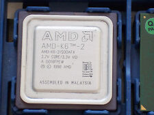 Amd K6-2 500 Mhz AFX Socket 7 CPU@FULLY TESTED@FULL ORDER@SUPER de trabajo Socket 7