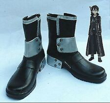 Sword Art Online Kazuto Kirigaya Kirito Cosplay Costume Shoes Boots Shoe UK