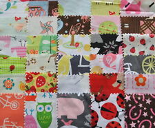 """I Spy Novelty Girl Fabric 5"""" Squares Charm Pack 30 different pieces, 100% cotton"""
