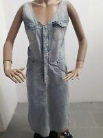 Vestitino LEE Donna Dress Woman Veste Femme Taglia Size M Cotone Vintage P 8446