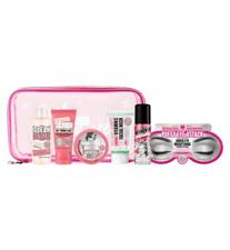 Soap & And Glory Christmas Gift set, Travel Wash Bag birthday bath set for women