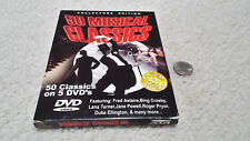 NEW DVD Collectors Edition, 50 Musical Classics, 52+ hours, 5 DVDs, 2005 NR, B&W