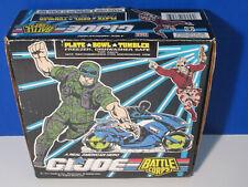 G.I. JOE BATTLE CORPS DISHWASHER SAFE PLATE-TUMBLER-BOWL MADE IN USA!