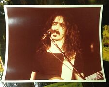 1976 FRANK ZAPPA ON STAGE 8X10 COLOR ZOOT ALLURES ERA PHOTO MOTHERS O INVENTION