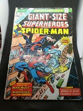 Giant-Size Superheroes Spider-Man Man-Wolf