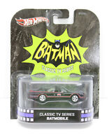 Hot Wheels Batman Classic TV Series Batmobile Car Black Die Cast New in Package