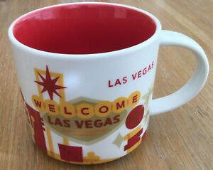 Starbucks Mug ~ LAS VEGAS ~ You Are Here Collection ~14 oz Mug ~ Coffee ~ Tea