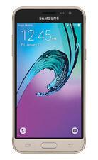 Virgin Mobile - Samsung Galaxy J3 Prepaid Cell Phone -Gold + Earpiece -US Seller