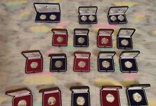 SAN MARINO----COLECCION MONEDAS PLATA 5€ y 10€ -----2002-2011