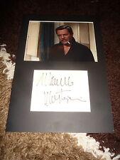 MARCELLO MASTROIANNI (+ 1996) signed Autogramm 20x30 cm Passepartout SELTEN