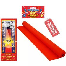 VIP RED CARPET RUNNER 15 X 2ft WEDDINGS BIRTHDAY PARTY HOLLYWOOD EVENT PROP 4.5m