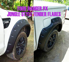 Jungle OFF-ROAD FENDER FLARES ARCH FOR FORD RANGER PX T6 WILDTRAK 2012 2013 2014