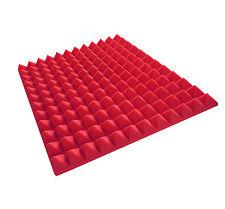 Akustikpur Color (Rot/Pink) Pyramiden Akustikschaumstoff Pyramidenschaumstoff