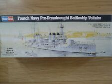 Maquette Bateau 1/350 Hobby Boss French Navy Pre-Dreadnought Voltaire Ref 86504