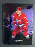 2019-20 UD Black Obsidian Rookie Filip Zadina Purple /99