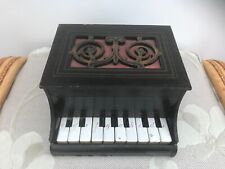 More details for antique vintage french piano cahiers small wooden piano