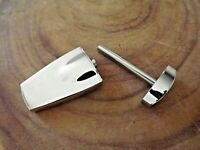 Zippo Chrome Pocket Cigar Punch - Zippo Cigar Plug Cutter Punch  With Ejector