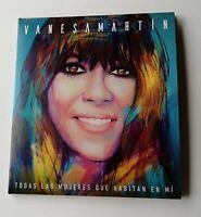 VANESA  MARTIN - CD - TODAS LAS MUJERES QUE HABITAN EN MI - 12 SONG - 4 BONUS