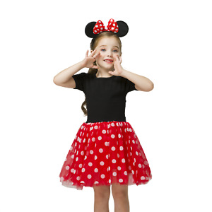 Minnie Mouse **With NAME** 5th Fifth 5 Baby Fuchsia Tutu Dress Fast Shipping
