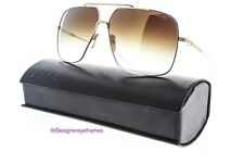 DITA FLIGHT. 005 7805 B Gold Brown Gradient Aviators Sunglasses NWT AUTH