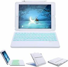 For ipad 5th/6th Air Detachable 2 in 1 Keyboard Case Stand Cover with Pen holder