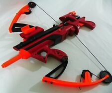 Nerf Red Big Bad Bow Crossbow or Compound Bow Nerf War Cosplay