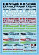 1/18 1/12 1/24 1/20 1/43 decals KAWASAKI