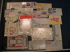 16 NASCAR 1/24 WATER SLIDE DECAL LOT DALE EARNHARDT JR. K. HARVICK TONY STEWART