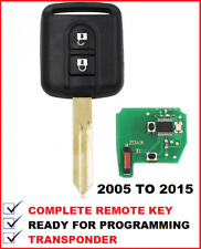 TRANSPONDER REMOTE CAR KEY SUITABLE FOR NISSAN NAVARA PATHFINDER 2005 - 2015