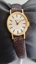 B TISSOT STYLIST VINTAGE MANUAL WINDING SWISS MADE GOLD WATCH MONTRE OR MANUEL