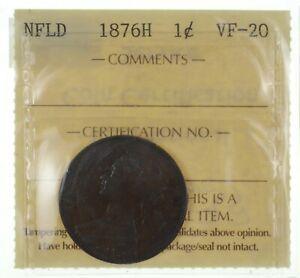1876-H Newfoundland 1 Cent *2506