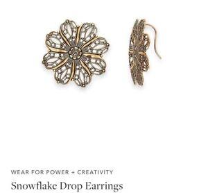 alex and ani snowflake earrings