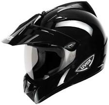 UVEX ENDURO SLT GLOSS BLACK MOTORCYCLE HELMET *HALF PRICE*- SMALL