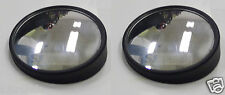 "2"" Round 360 Adjustable Blind Spot Mirror Wide Angle Convex 2 PCS Stick-on USA"