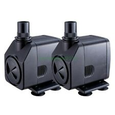 Two 400GPH Submersible Fountain Waterfall Water Pump Grounded US 3-prong AC Plug