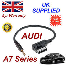 AUDI A7 Series ami mmi 4f0051510f Música Interfaz Jack de 3.5mm Entrada Cable