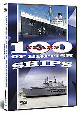 100 Years Of British Ships (DVD, 2007) new and sealed