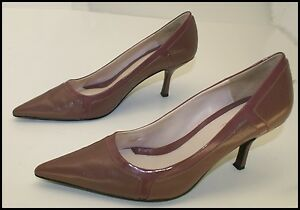 Cute Nine & Company Leather Pointy Toe Heel Sharp Classy Shoe 10 M BARGAiN SAVE