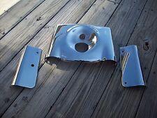 Harley Davidson Heritage Fatboy Smooth CHROME Tin Set Fork Cover Kit