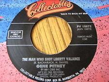 GENE PITNEY - THE MAN WHO SHOT LIBERTY VALANCE / I WANNA LOVE MY LIFE AWAY
