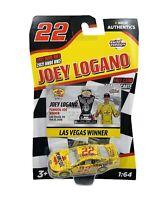 #22 Las Vegas Winner Nascar Joey Logano 2021 Wave RW2