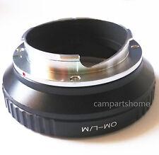 Olympus OM Lens To Leica M LM Adapter M5 M6 M7 M8 M9 MP M9-P Ricoh GXR-M
