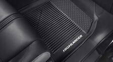 14 15 16 17 2018 Highlander OEM All Weather Floor Liners Mats PT908-48165-02