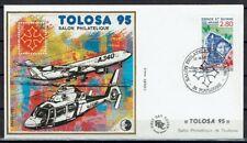 FRANCE BLOC CNEP N° 20 sur FDC SALON PHILATELIQUE 1995 TOULOUSE TOLOSA 95 - LUXE