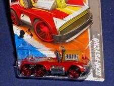 Hot Wheels 2012 HW Code Cars Series #241 Semi-Psycho Red-Orange
