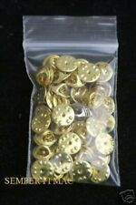 25 METAL HAT PIN BACKS & NAILS US ARMY MARINES NAVY AIR FORCE BUTTERFLY TIE TACS