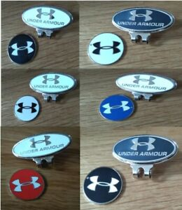 Under Armour magnetic ball marker also available as sets of marker with hat clip