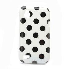 Handy Hülle Schutzhülle Kratzschutz gepunktet Design Etui HTC Desire V T328w Neu